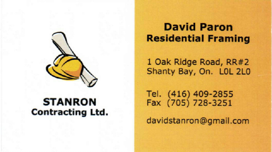 Stanron Contracting Ltd.